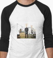 Block Island Men's Baseball ¾ T-Shirt
