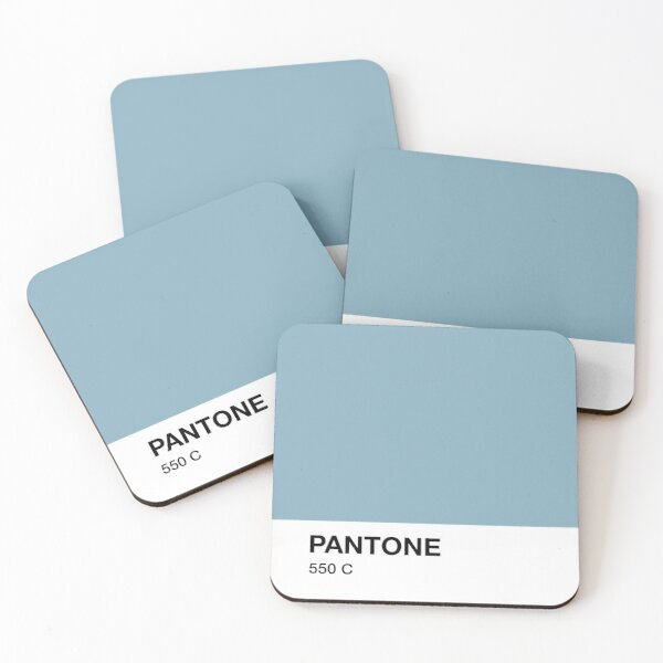 Pantone 550 Coasters (Set of 4)