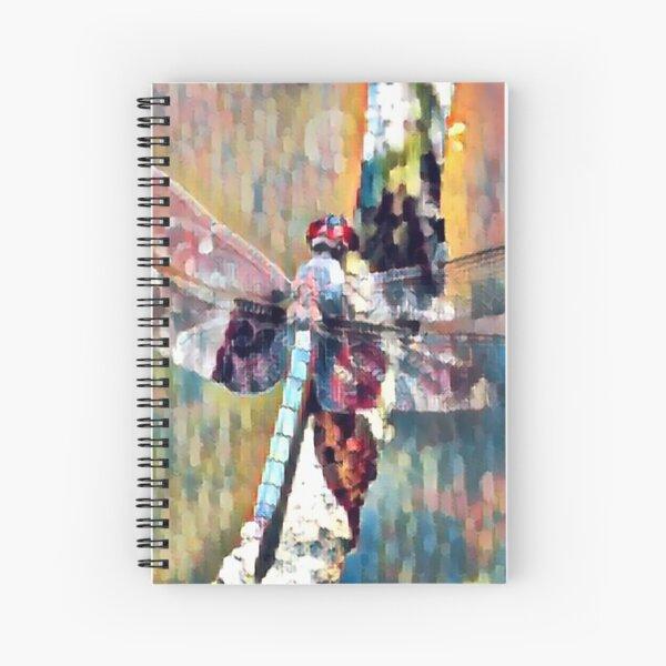 Light tipped Demon Dragonfly  Spiral Notebook