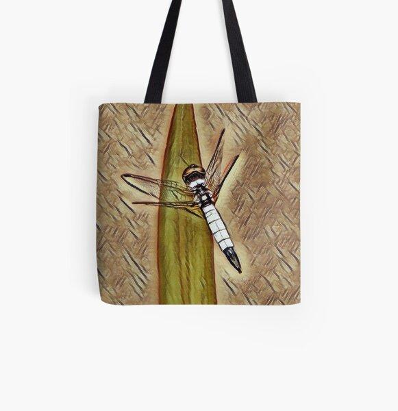 Pond Adjutant Dragonfly  All Over Print Tote Bag
