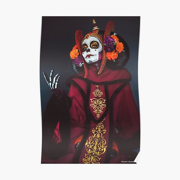 La Catrina Amidala Poster