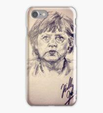 Angela Merkel iPhone Case/Skin