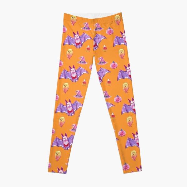 Orange Spooky Gummies Leggings
