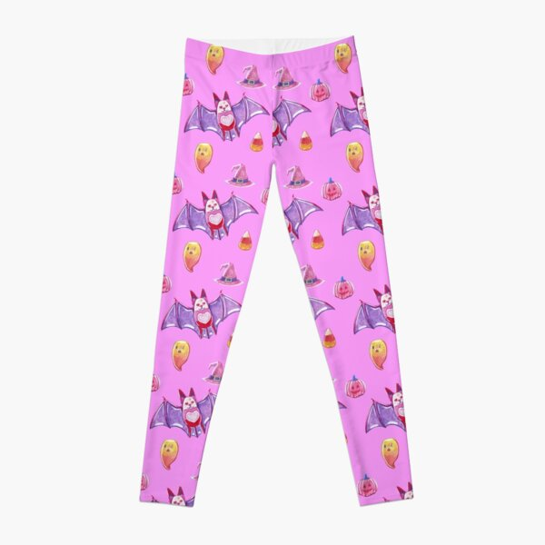 Pink Spooky Gummies Leggings