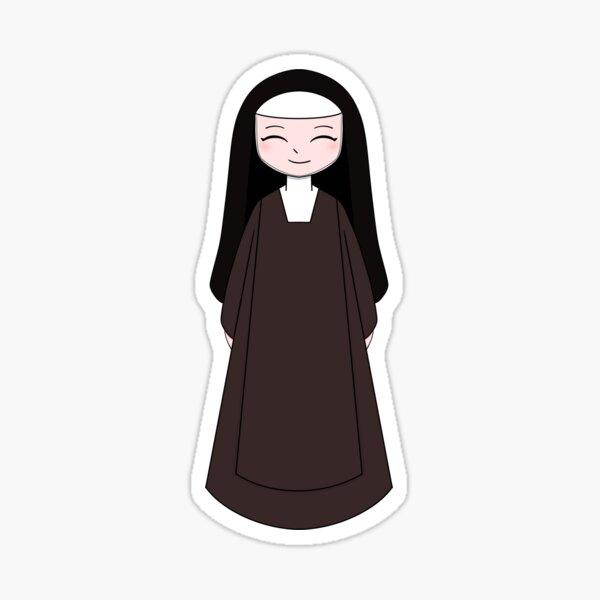 Carmelite Nun Sticker