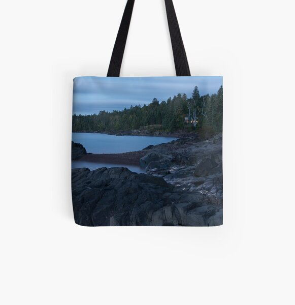 Just Before Dawn All Over Print Tote Bag