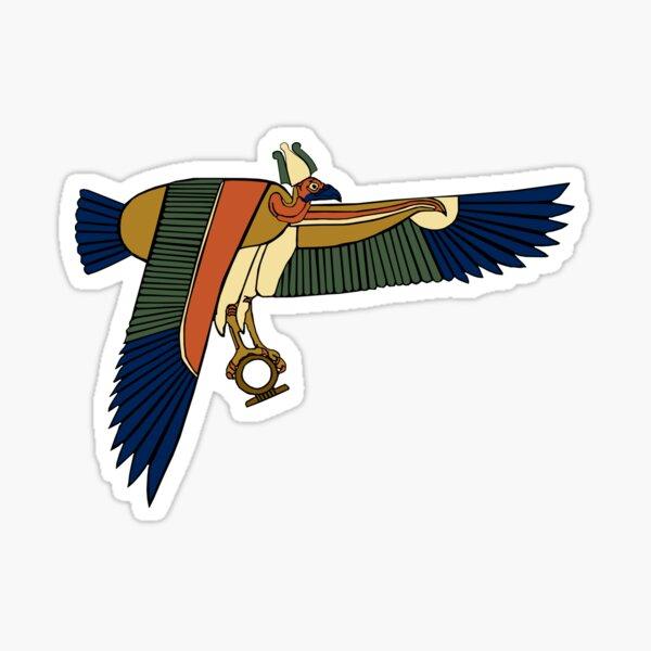 Nekhbet Vulture Goddess Sticker