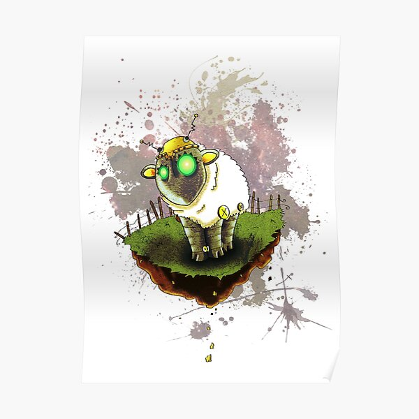 Electric Sheep Poster