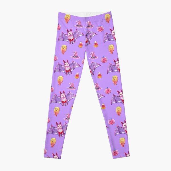 Purple Spooky Gummies Leggings