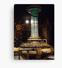 Doctor Who Console - 9th / 10th Doctors Canvas Print