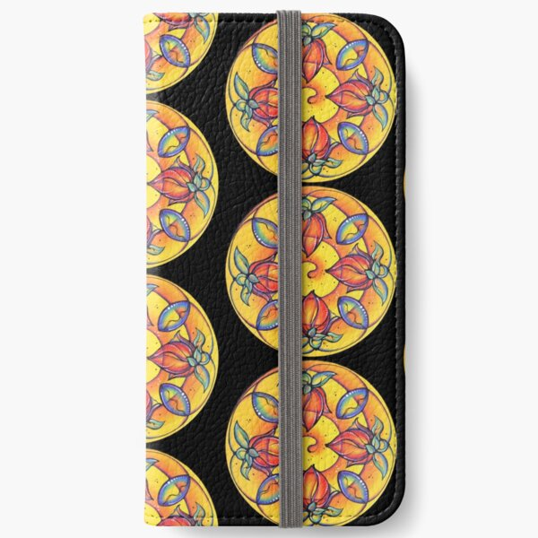 Ready to Bloom iPhone Wallet