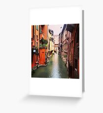 Secret Canal Greeting Card