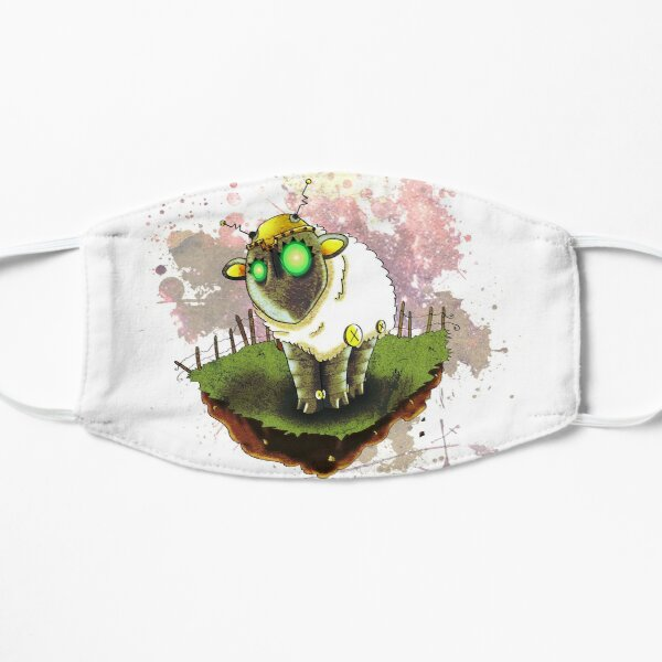 Electric Sheep Flat Mask