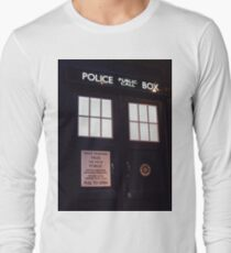 Doctor Who TARDIS Doors - Police Box Long Sleeve T-Shirt