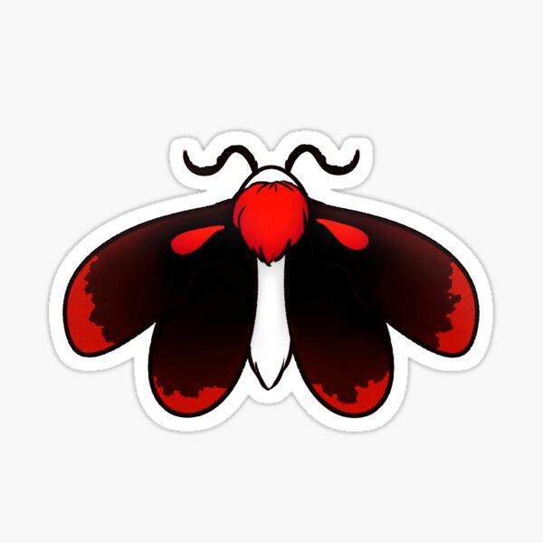 Blood Moth Sticker