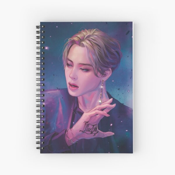 JIMIN-FILTER 01 Spiral Notebook