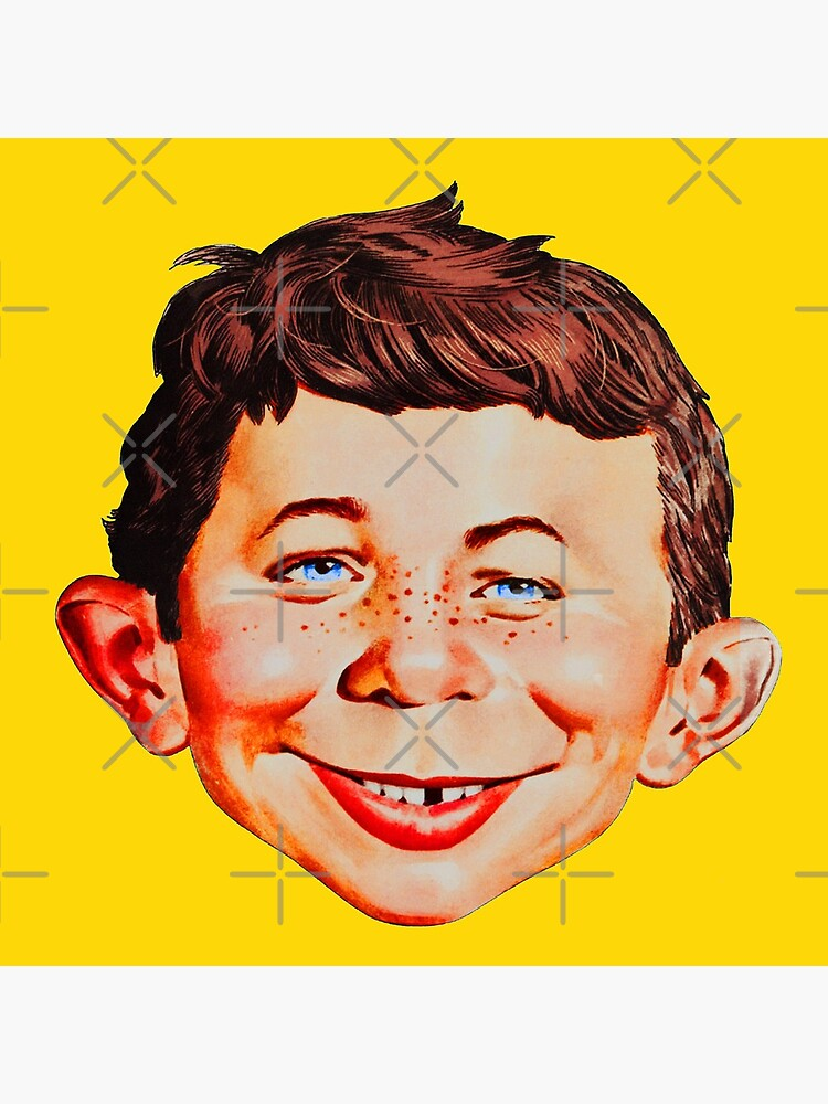Mad Magazine Shirt, Sticker, Mask by TV-Eye-On-Me