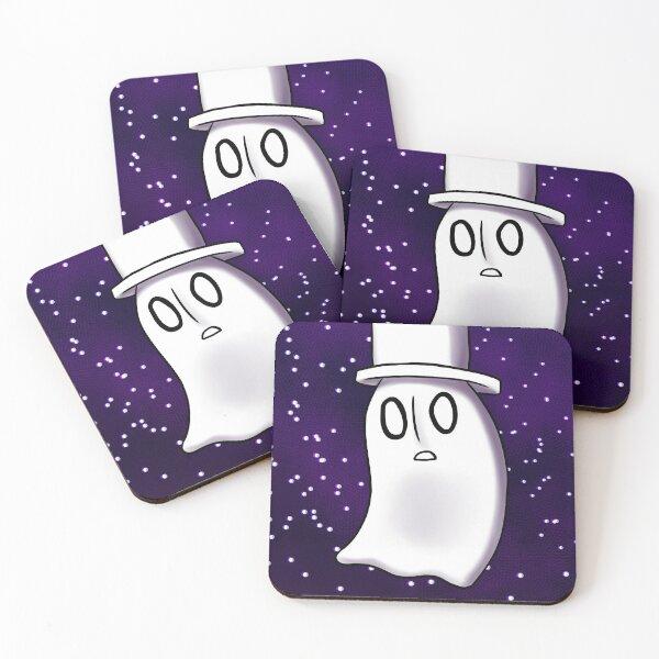 Napstablook Coasters (Set of 4)
