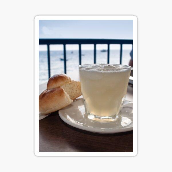 Breakfast, Filicudi Sticker