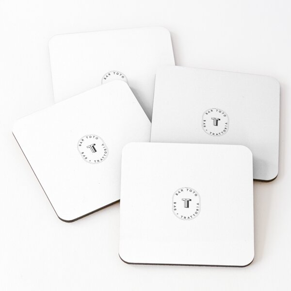 Bar Toto - Oval Logo Coasters (Set of 4)