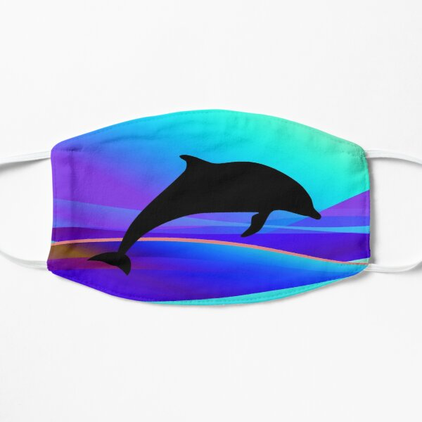 Dolphin Swim Face Masks Redbubble