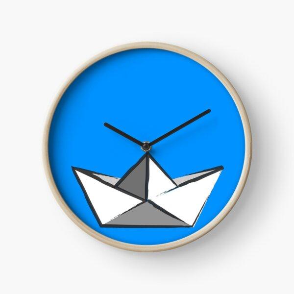 Georgie's paper boat! Clock
