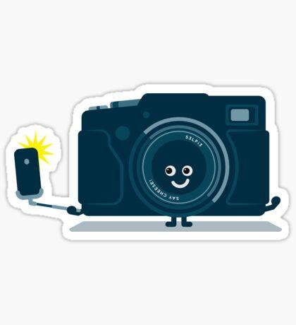 Character Building - Selfie camera Sticker