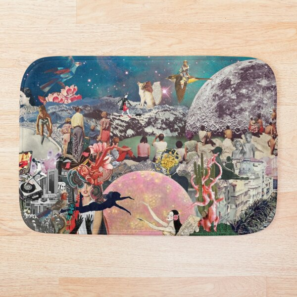 Collage Inception Bath Mat
