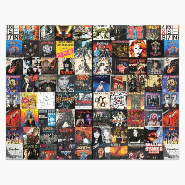 Rock Collage Collection Jigsaw Puzzle