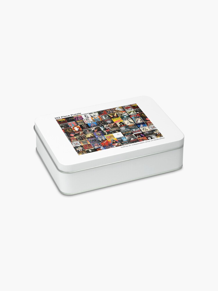 Alternate view of Rock Vinyl Collage  Jigsaw Puzzle
