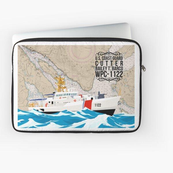 Chart Art - Coast Guard Cutter Bailey T Barco Laptop Sleeve