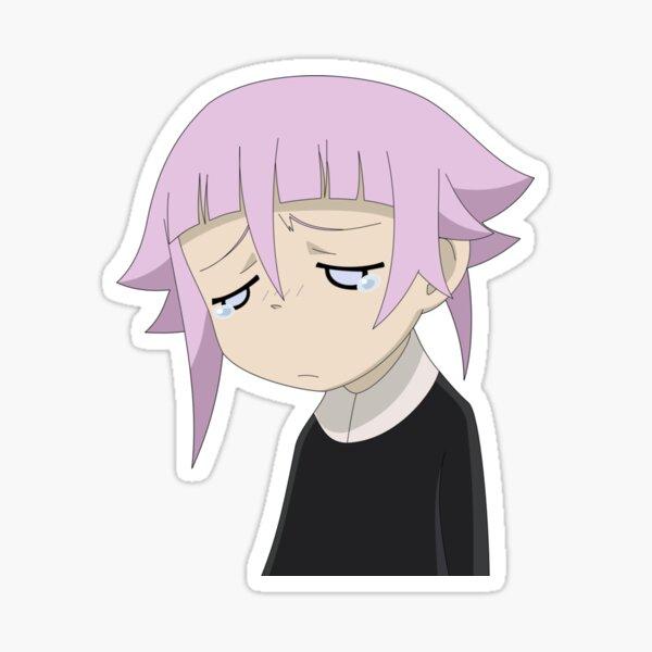 Crona Sad Design Sticker