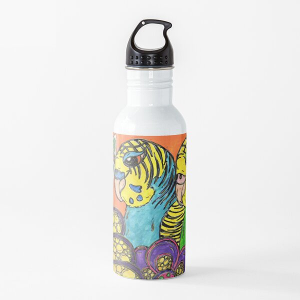 Boho Budgies Water Bottle