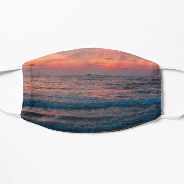 Sunset Scenery  Flat Mask