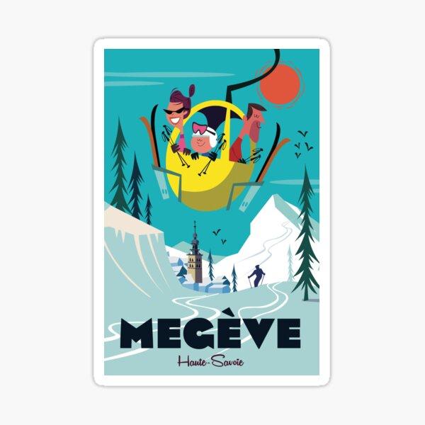 Stickers sur le thème Megeve | Redbubble