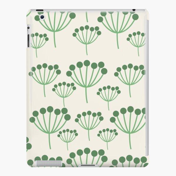 Green Floral iPad Snap Case