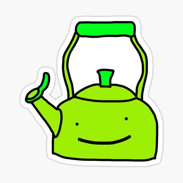 Dream kettle wheeze  Sticker