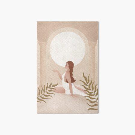 Moon Goddess - Release Art Board Print