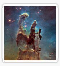 Pillars of Creation Eagle Nebula Messier 16 M16 NGC 6611 Sticker