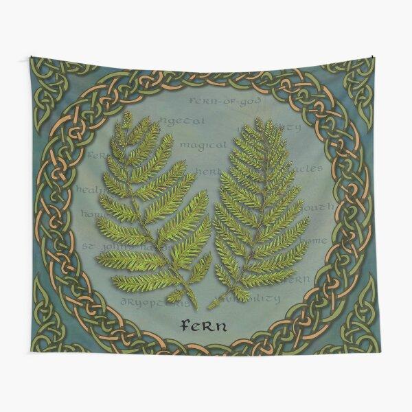 Celtic Ferns Tapestry