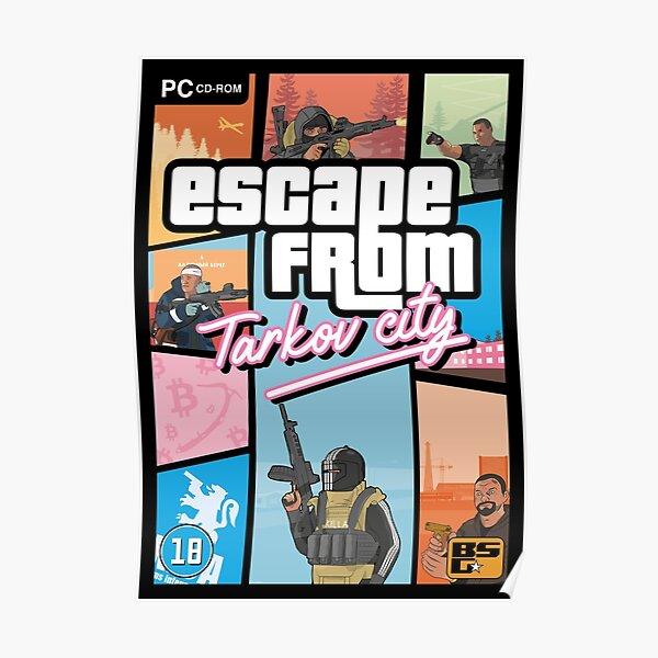 Escape from Tarkov - GTA Vice City Style Poster