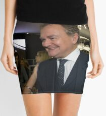 Hugh Bonneville British actor from Downton Abbey  Mini Skirt