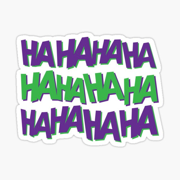 Maniacal Laugh Sticker