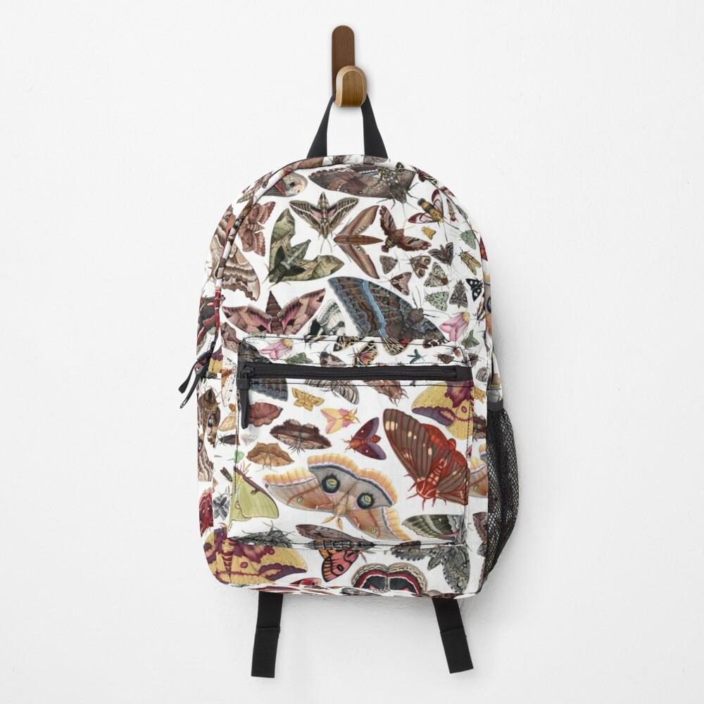 Moths of North America Pattern Backpack