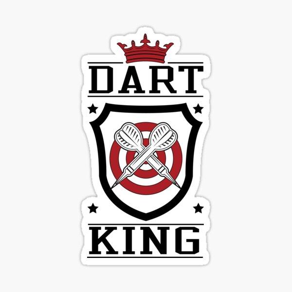 Dart King Sticker