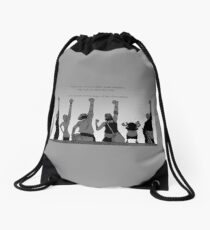 """Will you call me """"Friend"""" once more?! Drawstring Bag"""