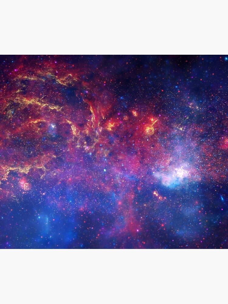 Lila Galaxie von kaleidodesigns