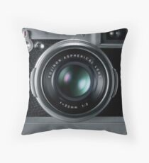 camera ancient / classic Throw Pillow