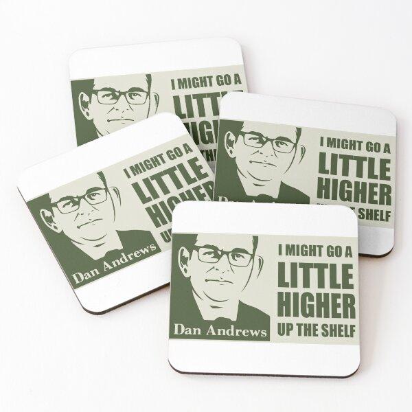 Dan Andrews - Top Shelf Coasters (Set of 4)