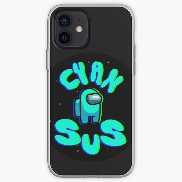 Among Us Cyan Sus iPhone Soft Case